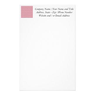 Rotes Sonnenaufgang-Entwurfs-Muster Büropapier