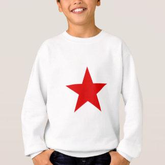 Rotes Stern ★ Sweatshirt