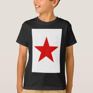 Rotes Stern ★ T-Shirt