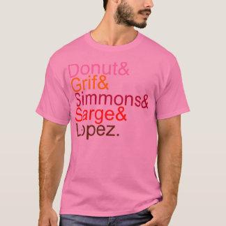 Rotes Team-Etzeichen I T-Shirt
