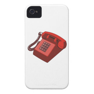 ROTES TELEFON Case-Mate iPhone 4 HÜLLE