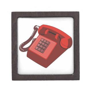 ROTES TELEFON SCHACHTEL