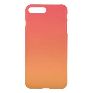 Rotes u. orange Ombre iPhone 8 Plus/7 Plus Hülle
