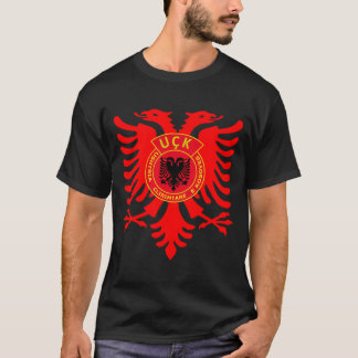 Rotes UCK Eagle T-Shirt