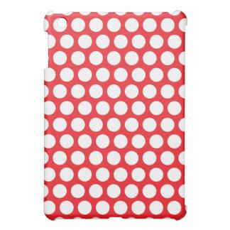 Rotes und weißes Tupfen iPad Mini iPad Mini Hülle