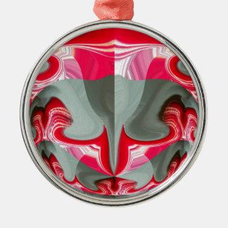 Rotes Vintages Hakuna Matata rundes gifts.jpg Ornamente