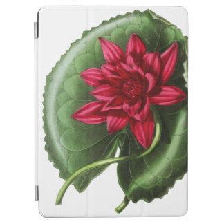 Rotes Wasser-Lilie iPad Air Hülle