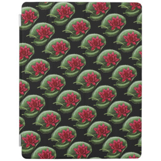 Rotes Wasser-Lilie iPad Smart Cover