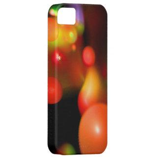 Rotes weißes Rosa QUANTUMS-BLASE iPhone 5 Schutzhülle