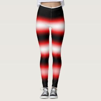 rotes weißes und schwarzes Baby Leggings