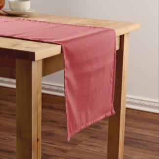 Rotes Wiggler Kurzer Tischläufer