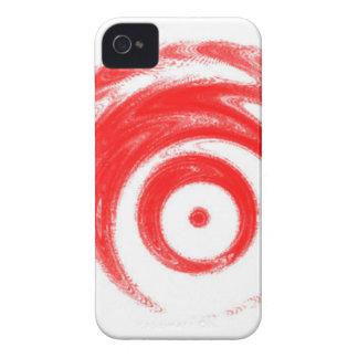 Rotes Ziel iPhone 4 Hüllen