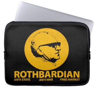 Rothbardian Elektronik-Fall Computer Sleeve Schutzhüllen