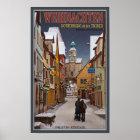 Rothenburg - Markusturm Weihnachten Poster