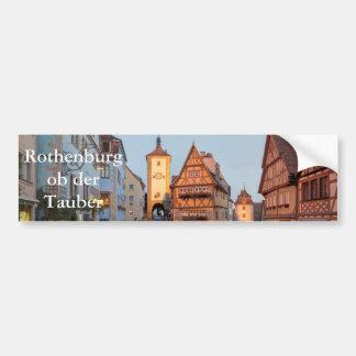 Rothenburg ob der Tauber Autoaufkleber