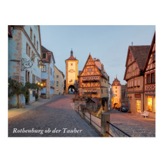 Rothenburg ob der Tauber Postkarte