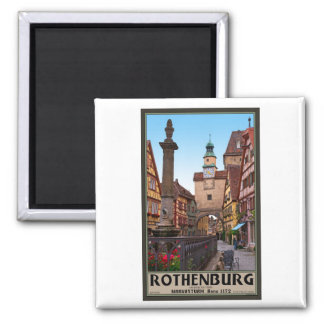 Rothenburg Od Tauber - Markusturm Kühlschrankmagnete