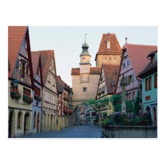 Rothenburg Stadt, Deutschland Postkarten