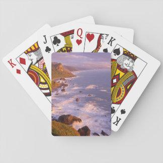 Rotholzküstenlinie, Kalifornien Spielkarten