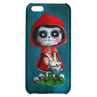 Rotkäppchen Dia de Los Muertos Little iPhone 5C Hülle