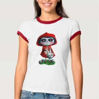 Rotkäppchen Dia de Los Muertos Little T-Shirt