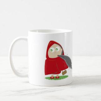 Rotkäppchen hat Appetit Kaffeetasse