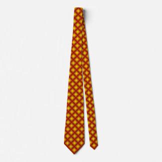 Rötlicher Golddiamant geometrische 2 Personalisierte Krawatte