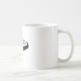 Rotluchs-Beschriften Kaffeetasse