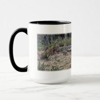 Rotluchs-Bild Tasse