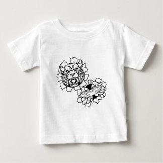 Rotluchs wildes Esports Gamer-Maskottchen Baby T-shirt