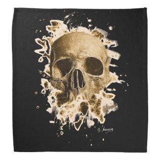 Rotten Skull – brownish Kopftuch