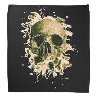 Rotten Skull – greenish Halstuch