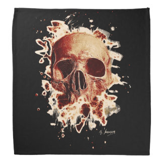 Rotten Skull – reddish Halstuch