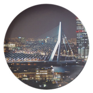 Rotterdam, die Niederlande Flache Teller