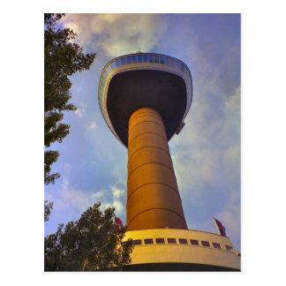 Rotterdam, Euromast Postkarte