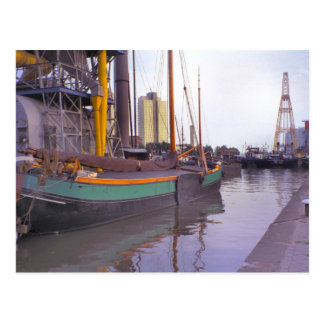 Rotterdam, historische Schiffe, niederländischer Postkarte
