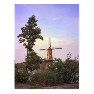 Rotterdam, Schiedam Windmühle Postkarte