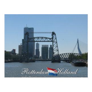 Rotterdam-Skyline-Holland-Postkarte Postkarte