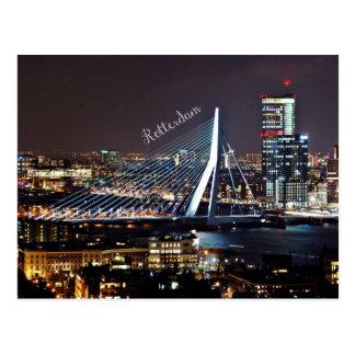 Rotterdam-Stadtbild Postkarte