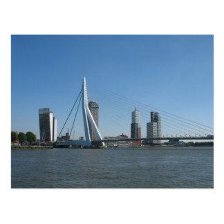 Rotterdamskyline-Fluss-Foto-Postkarte Postkarte