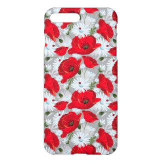 Rottöne und Weiß iPhone 8 Plus/7 Plus Hülle
