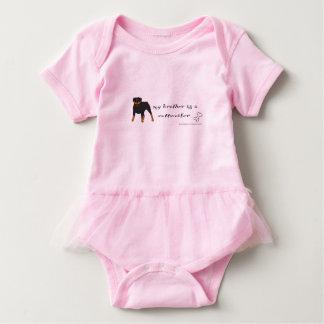 rottweiler baby strampler