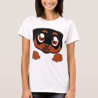 rottweiler, das Rost späht T-Shirt