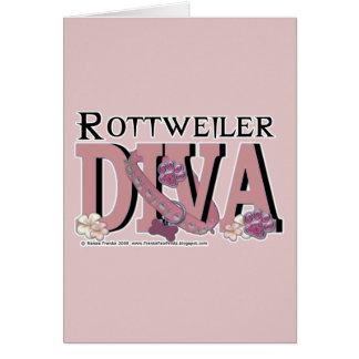 Rottweiler DIVA Karte