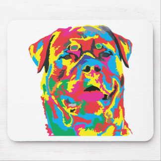 rottweiler Farbe Mousepad