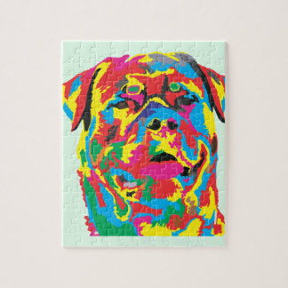 rottweiler Farbe Puzzle