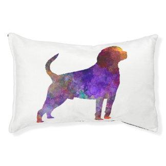 Rottweiler im Watercolor Haustierbett