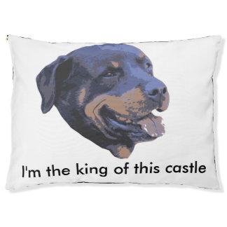 Rottweiler - König des Schlosses Haustierbett