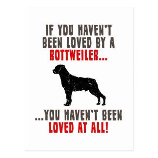 Rottweiler Postkarte