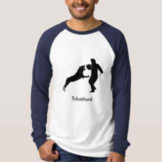 Rottweiler Schutz Schutzhund T-Shirt